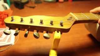 Como Cambiar Cuerdas Guitarra Telecaster HD1080