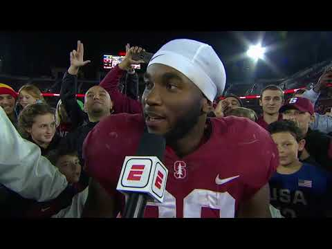 Bryce Love credits 'resiliency' for the Stanford Cardinal's turnaround | ESPN