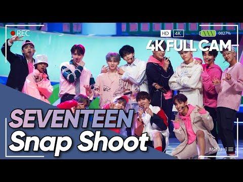 [4K] SEVENTEEN(세븐틴) - Snap Shoot Full Cam @190919 M COUNTDOWN FanCam