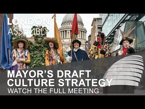 Mayor's draft Culture Strategy - Economy Committee