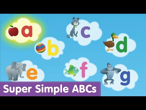 Phonics Alphabet Song (Lowercase) | Super Simple ABCs - YouTube