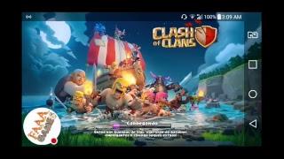 doando uma conta clash of clans cv9