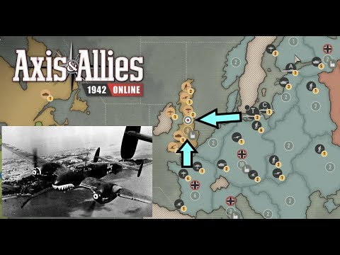 Axis & Allies 1942 Online: (Ranked) Attempting Operation Sea Lion #1 |