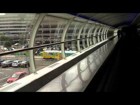 Manchester Airport - Skylink Walkway - Station to T1 and 3