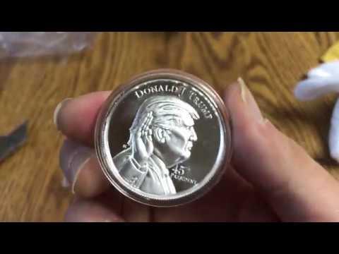 Unboxing 2 Oz High Relief  Donald Trump Elemetal Mint