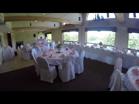 Athens Ohio Country Club Wedding Setup