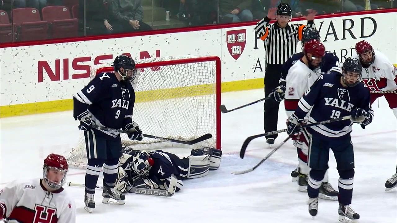 first rate eb842 c073d Recap: Harvard Men's Ice Hockey vs. Yale - Jan. 21, 2017
