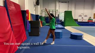 Developing the Basics  Tumbling: Front Walkover