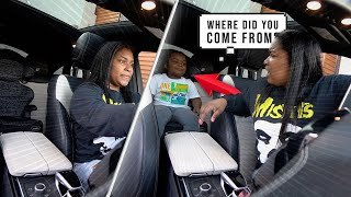 Left My Son In The Car Prank On Girlfriend  !!  SHE WAS CONFUSED 😳