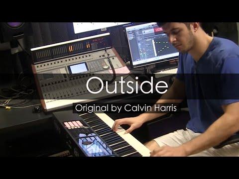 """Outside"" - Calvin Harris (Piano Cover) - Niko Kotoulas"
