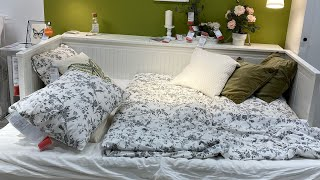 💚Икеа обзор постельное бельё🌸 2021 1 часть🍭обзор новинок IKEA