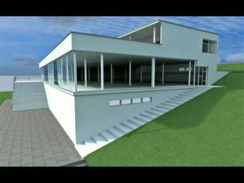 Ludwig mies van der rohe tugendhat house youtube - Casa tugendhat mies van der rohe ...