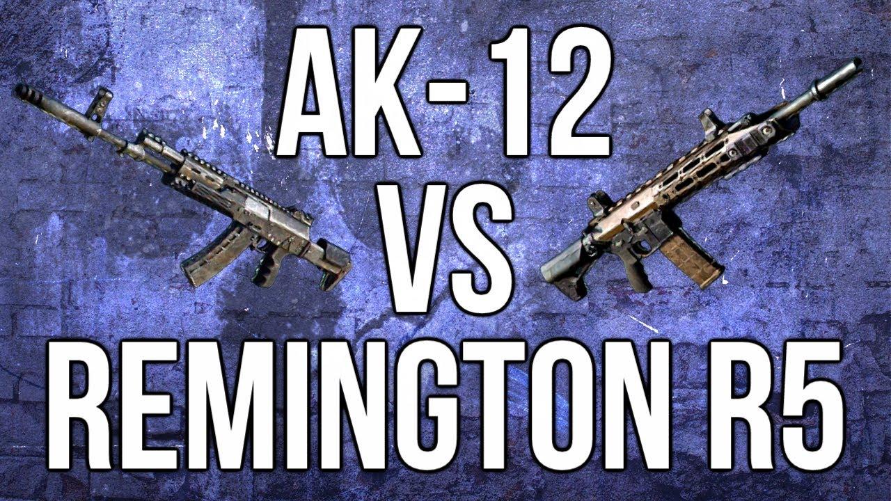 Ghosts In Depth - Ak-12 vs. Remington R5 (Assault Rifle ...  Ghosts In Depth...