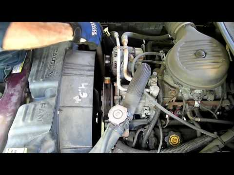 2002 dodge ram 1500 bypass pulley how to save money and do it yourself. Black Bedroom Furniture Sets. Home Design Ideas