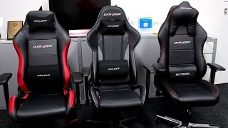 DXRacer Chair Differences Explained