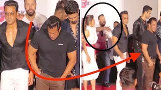 Why Shera Stop Salman Khan During RACE 3 Press Conference || Watch