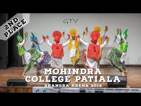Mohindra College Patiala – Second Place Live Category @ Bhangra Arena 2019