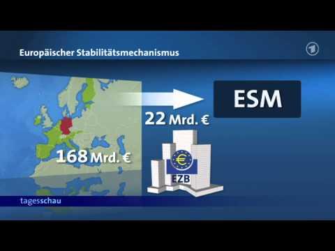So funktioniert der Rettungsschirm ESM
