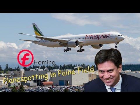 PlanespotterH | Paine Field Planespotting 2015