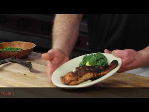 Organic Blackened Salmon - Bowery Dugout, Kingston, NY