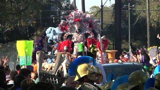 New Orleans' Mardi Gras Revelry Underway