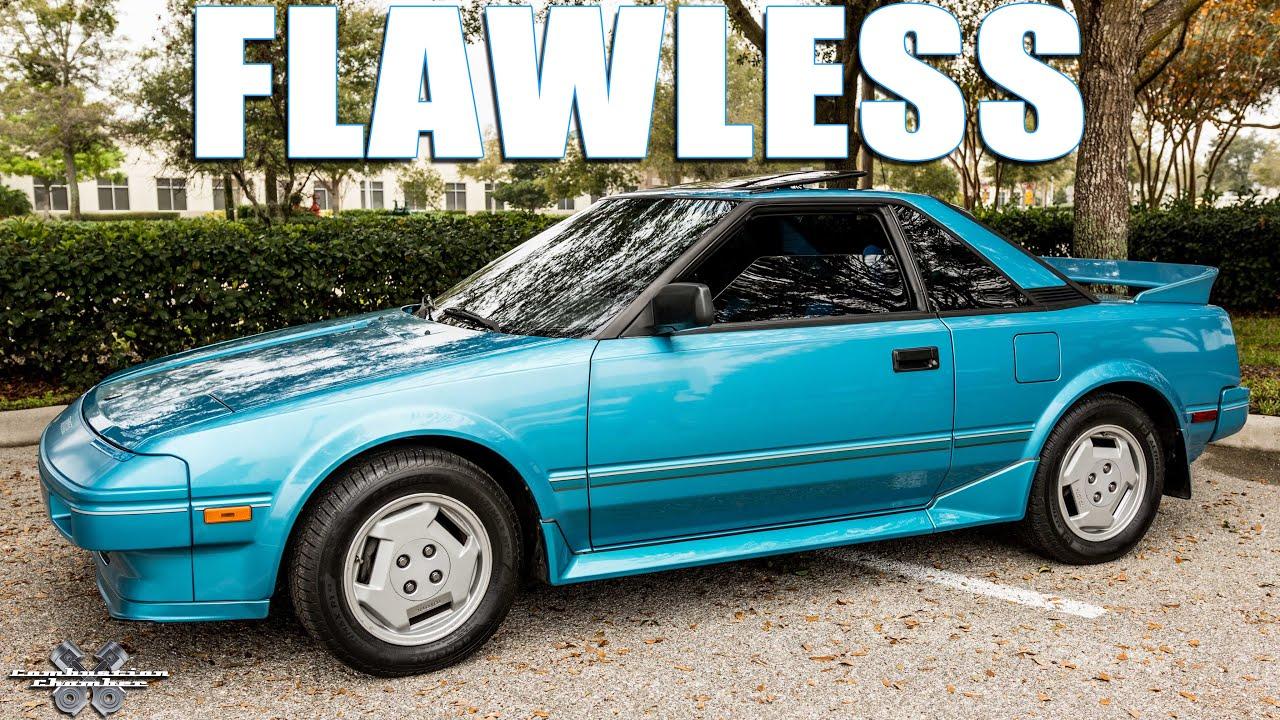 Flawless  - 1986 Toyota Mr2