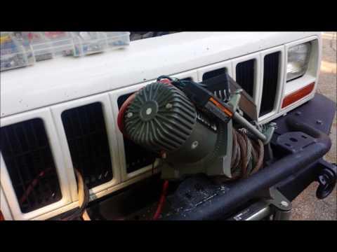 Repair on Harbor Frieght winch