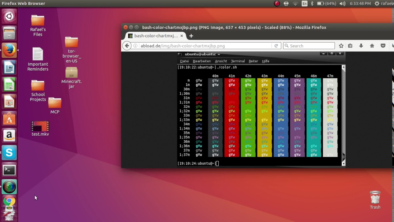 How to change your hostname and computer name's color in the Linux Terminal