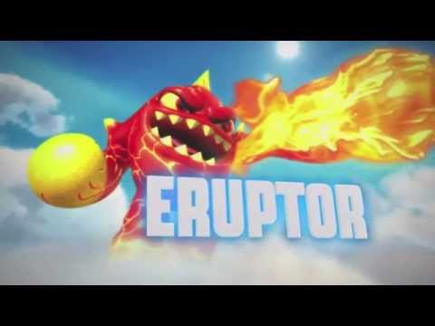 Skylanders with different songs (Giants)