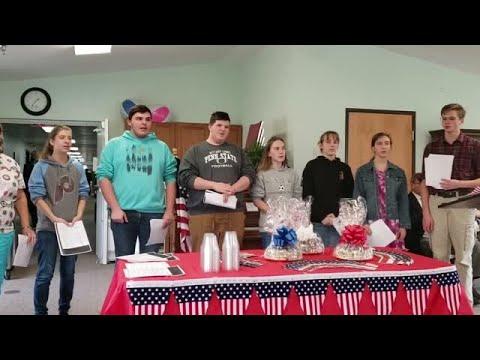 Sunbury Christian Academy students sing for veterans