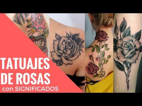 Rose Tattoo ó Tatuajes de Rosas con su significado por sus colores o por su tamaño | Tatuajes Tattoo