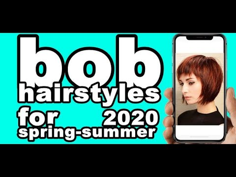 bob-hairstyles-for-spring-summer-2020