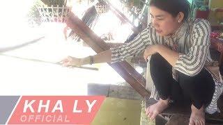 Kha Ly câu cá tại quê nhà An Giang cùng gia đình