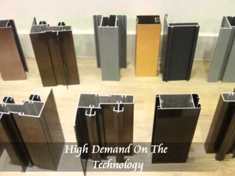 Electrophoresis Coating Aluminium Profile Showroom
