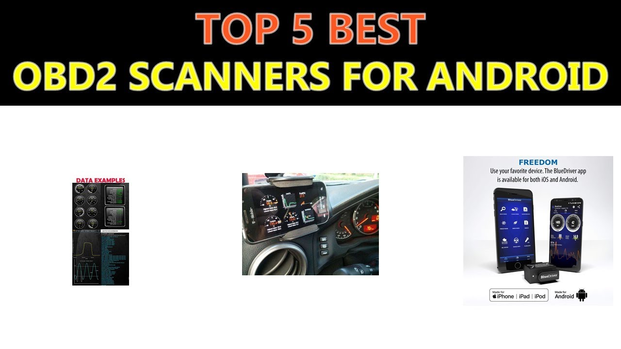 Best OBD2 Scanners for Android 2018