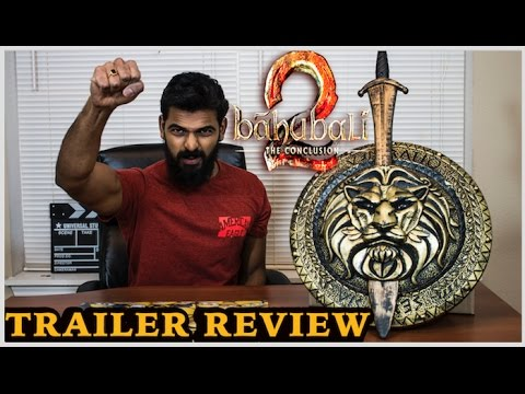 Baahubali 2 The Conclusion Trailer Reaction
