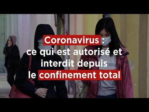 �������� Qu'est-ce qui est interdit, autorisé et fortement déconseillé ? Confinement Coronavirus