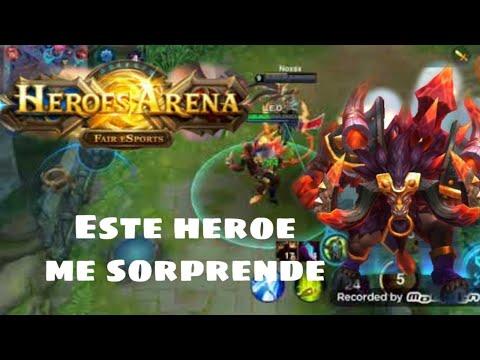 probando-chronus-el-minotauro-heroes-arena-espaÑol