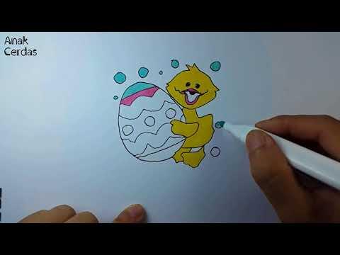 Gambar Belajar Menggambar Dan Mewarnai Bebek Jpeg Png Gif Best
