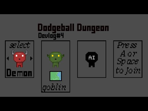 Adding Bots to the game - Dodgeball Dungeons devlog#4 |