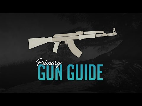 Uncharted 4 Multiplayer | Primary Gun Guide [Long Gun Weapon Review]