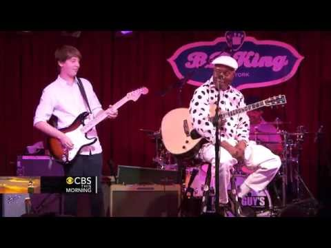 Blues prodigy 14 year old guitarist jams with blues legend