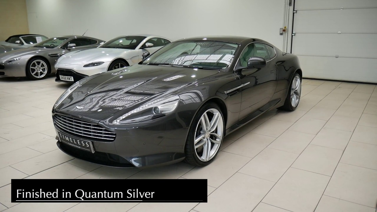 Aston Martin Edinburgh Virage Youtube