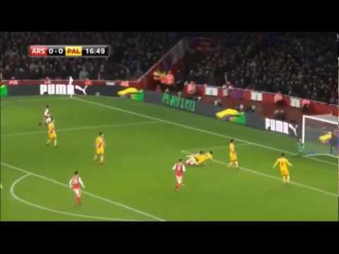 GIROUD Arsenal x Crystal Palace gol espetacular do arsenal /HD
