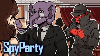 CAN'T HIDE FROM ME! | Spy Party (w/ Gorillaphent)