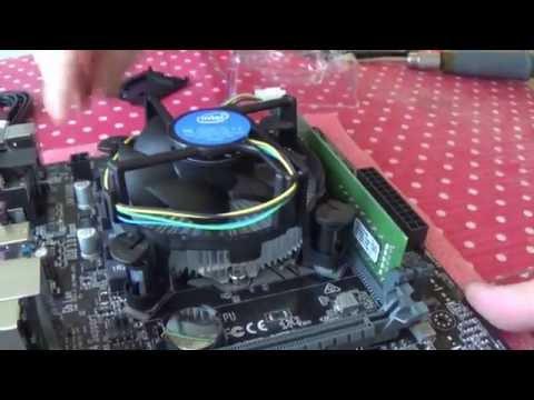 Сборка компьютера в Корпусе Zalman ZM-T2 Plus (+материнская плата Asus H110M-K)