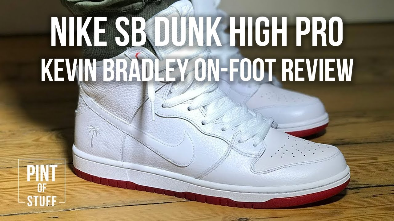 29f14b7d56e On-Foot Sneaker Review of the Nike SB Zoom Dunk High Pro  Kevin ...