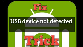 Download Video (TRICK) How to fix USB device not detected problem in droidcam easy MP3 3GP MP4