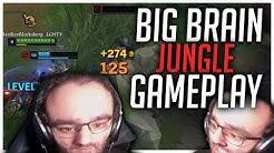 BIG BRAIN JUNGLE GAMEPLAY | Stream Highlights [League of Legends]