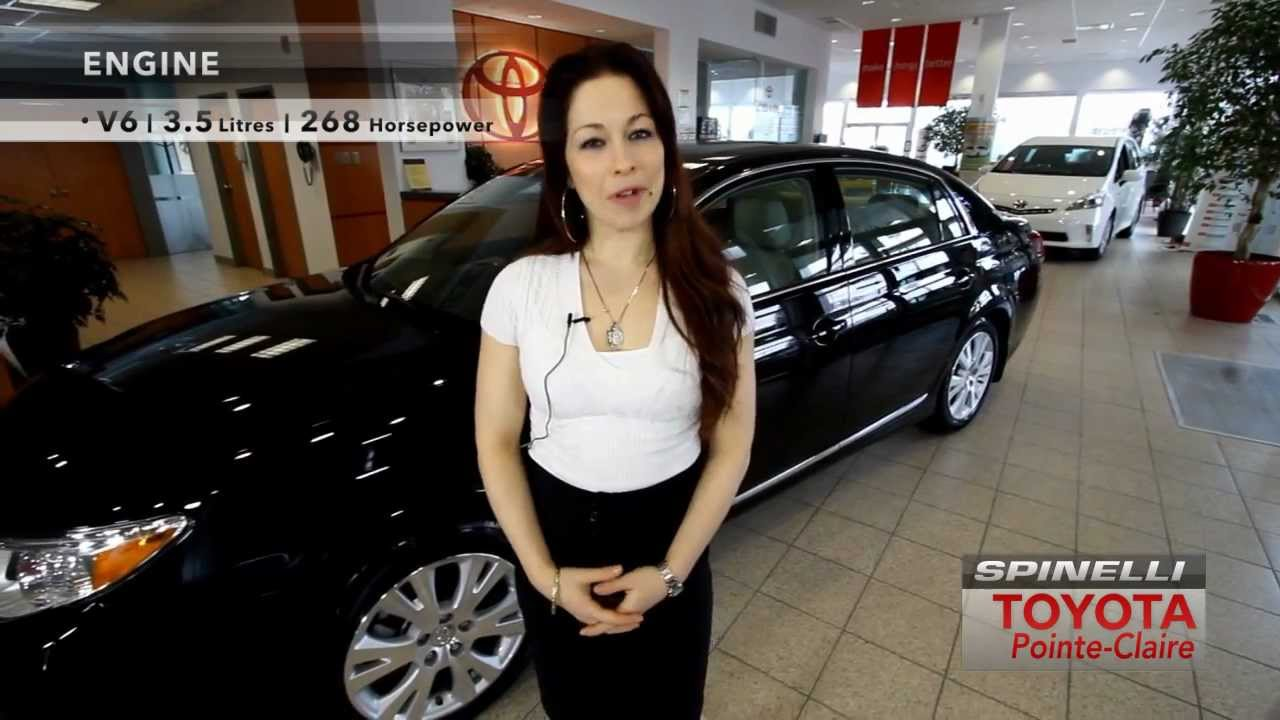 Toyota Pointe Claire >> 2012 Toyota Avalon Spinelli Toyota Pointe Claire Youtube